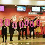 Na lotnisku Modlin odprawiono 3mln pasażerów