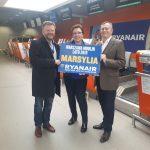 Inauguracja sezonu lato 2019 na lotnisku Warszawa/Modlin. Nowa trasa do Marsylii, wiele wakacyjnych kierunków