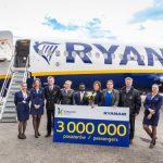 Ryanair Obsłużył W Katowicach 3 Miliony Pasażerów